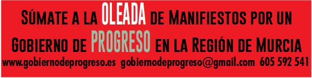 Sumate a la OLEADA de manifiestos por un gobierno de progreso